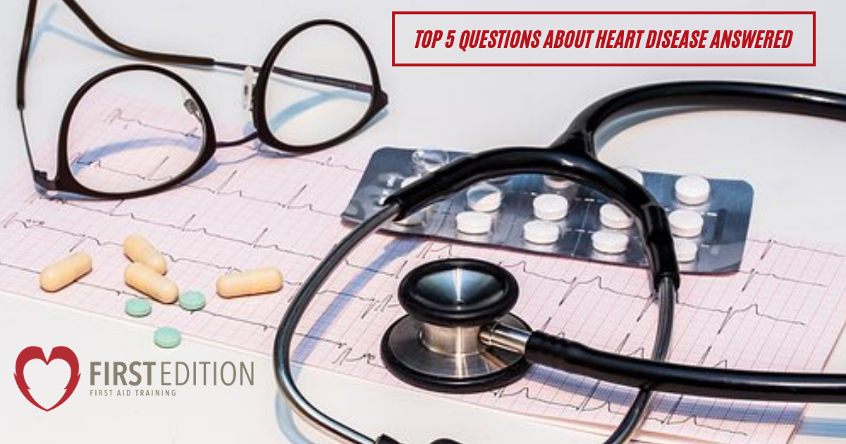 Top 5 questions about heart disease answered banner