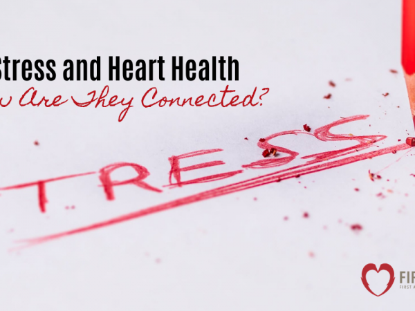 stress and heart health - how are they connected feature image