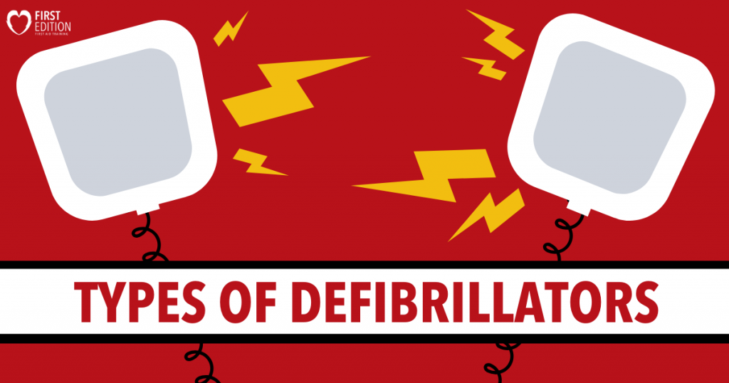 Types of Defibrillators Image