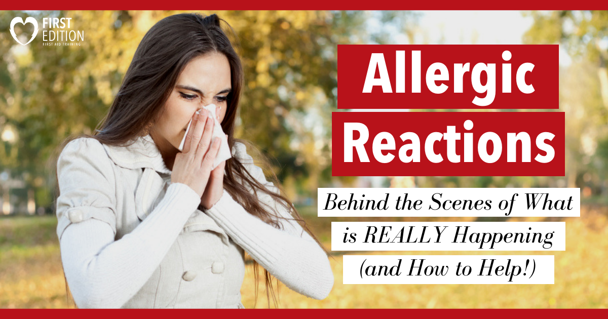 woman sneezing due to Allergic Reaction