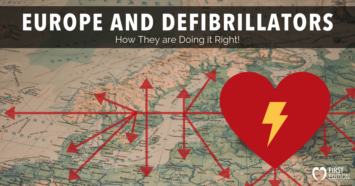 Europe and Defibrillators Image