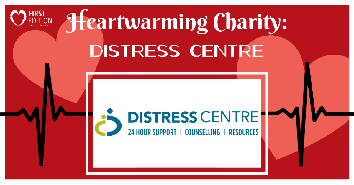 Heartwarming Charity Blog - Distress Centre