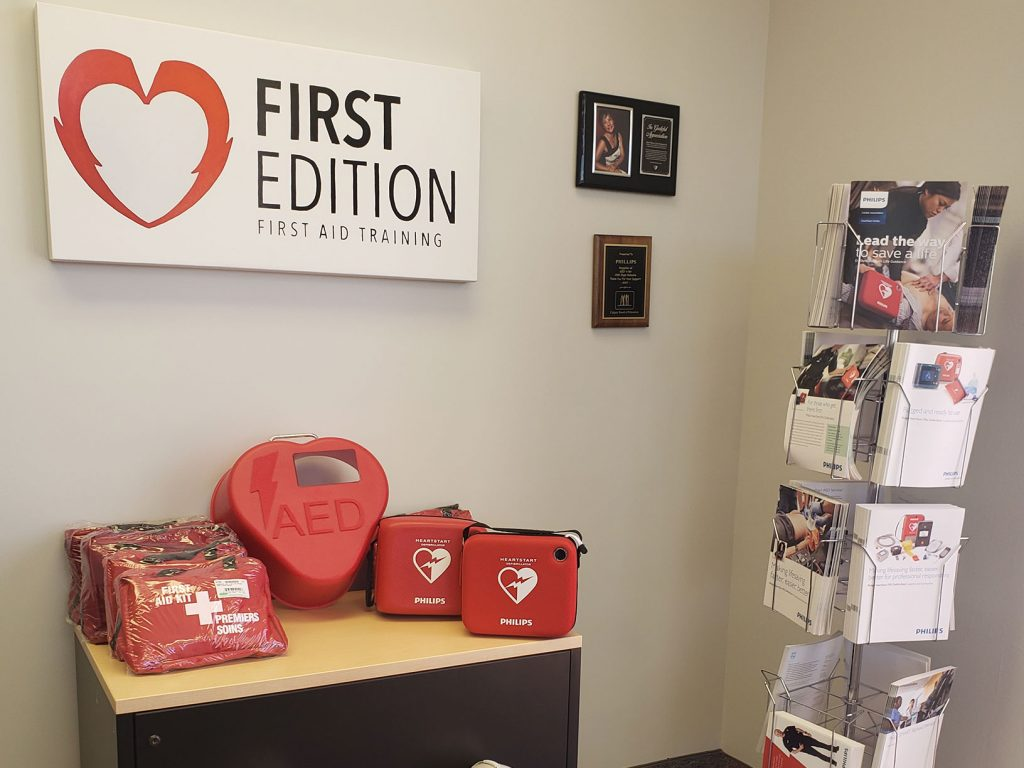 First Edition AED Display