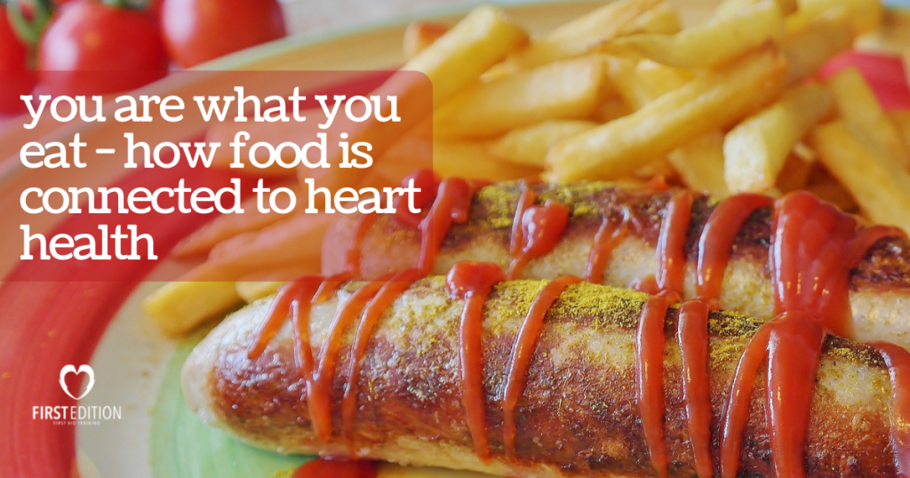 plate of hot dog and french fries