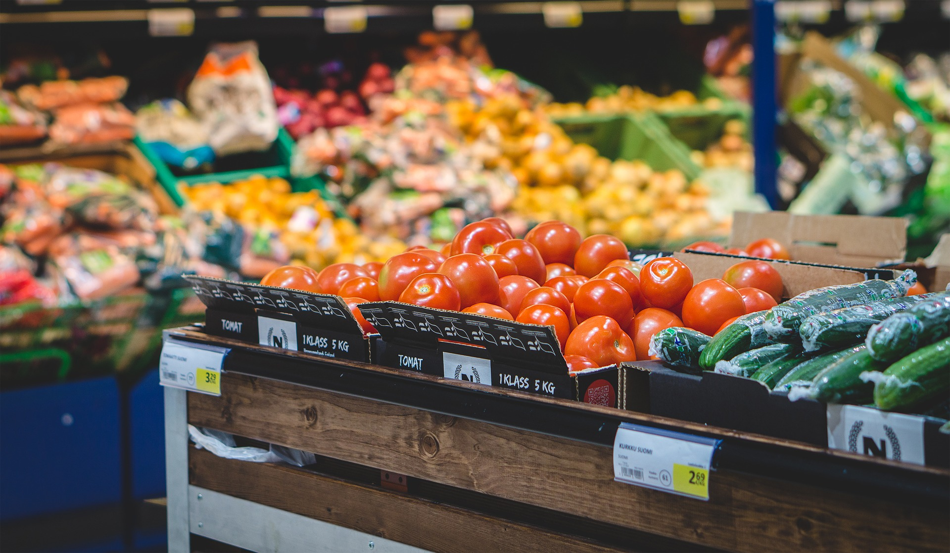 healthy foods in grocery store