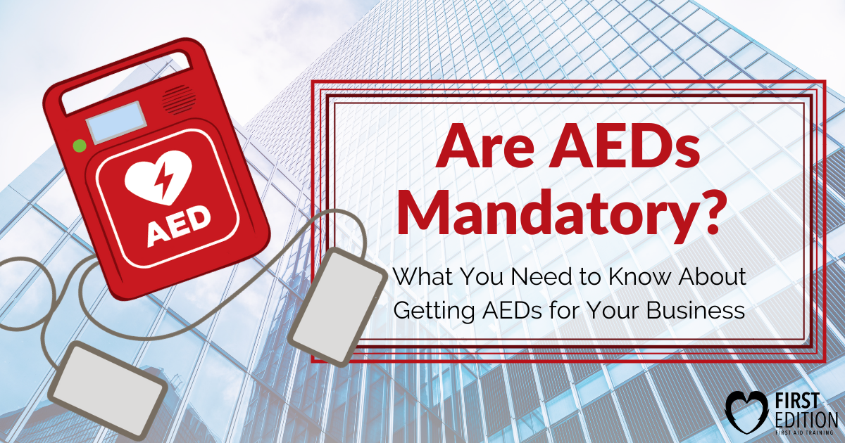 Are AEDs Mandatory - Image