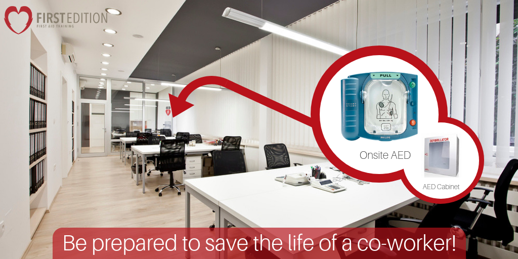 Be Prepared - Office - Are Aeds mandatory