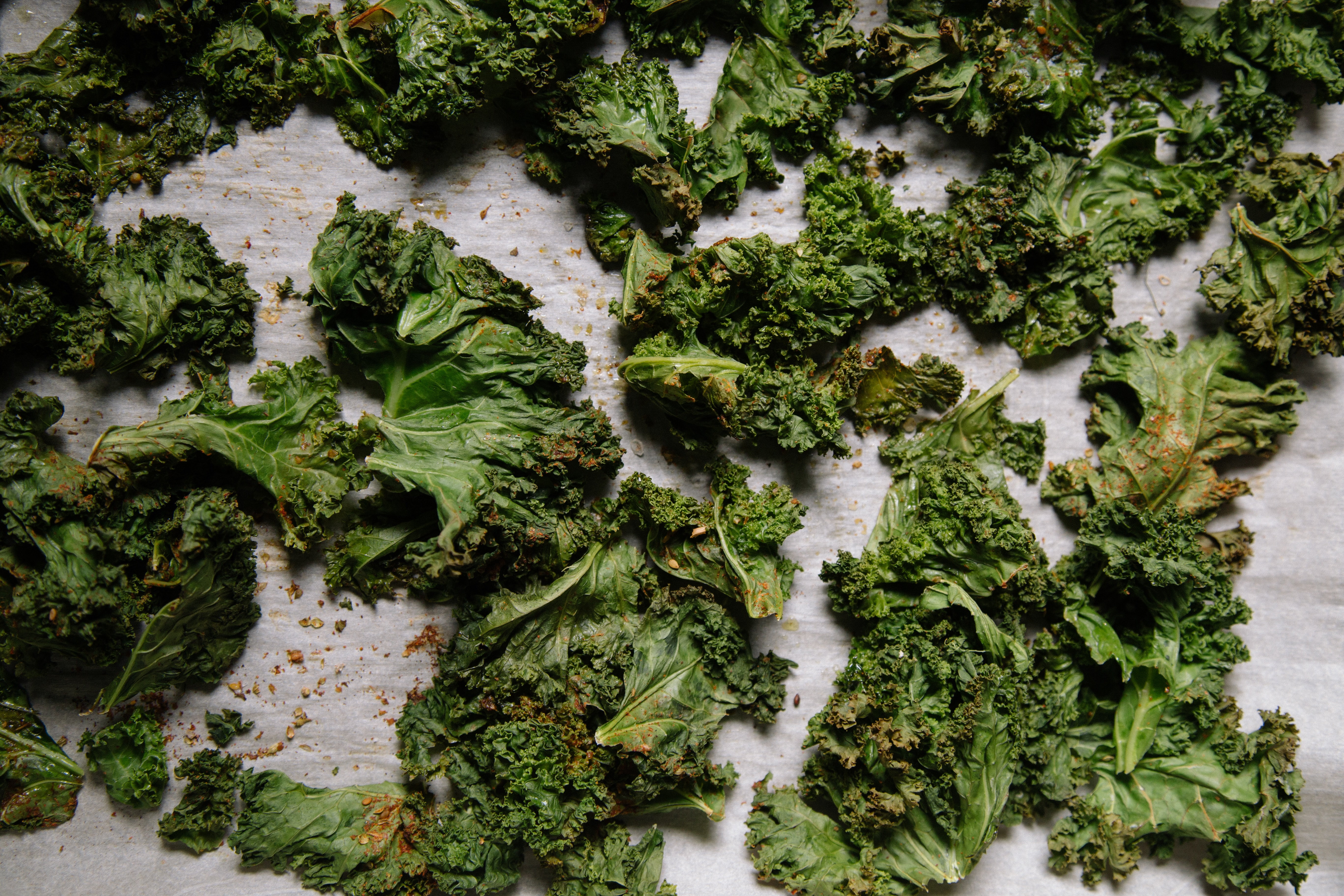 Kale Chips - Heart Healthy Snack