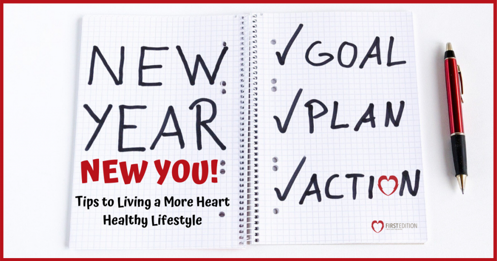 new year resolution notepad