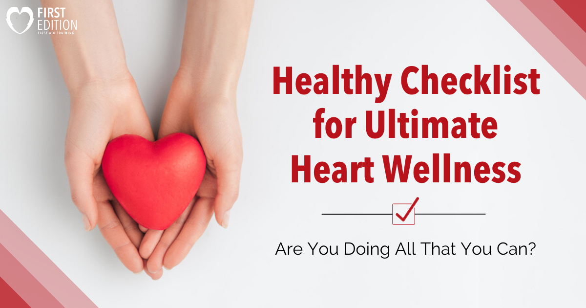 Healthy Checklist for Heart Wellness Image