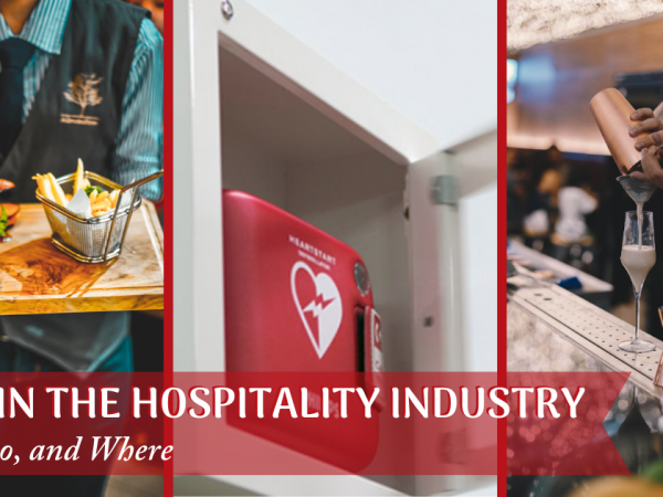 AED's in the Hospitality Industry- Why, Who Where