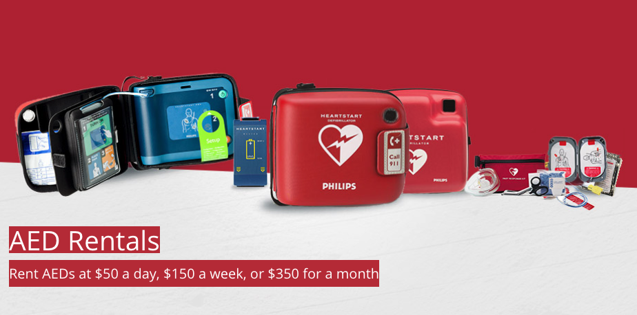 Rent an AED - Hospitality Industry