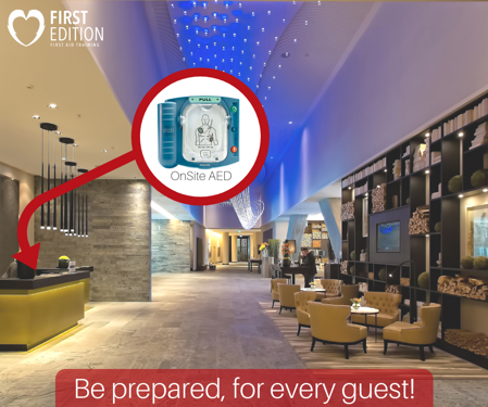 Where Should You Store AED - Hospitality Industry