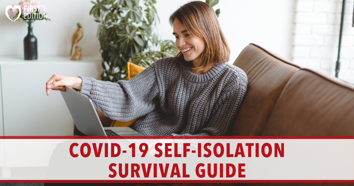 COVID-19 Self Isolation Survival Guide Image