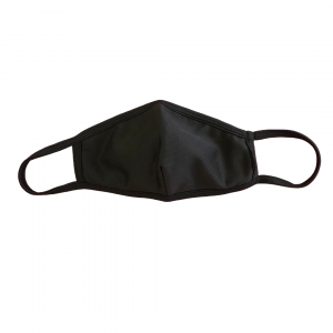 black covid-19 face mask