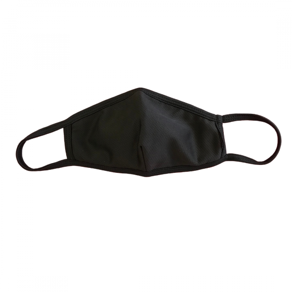 black reusable face masks