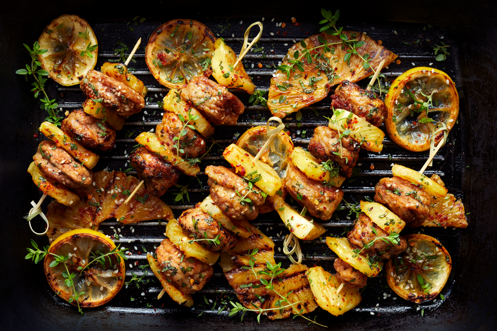 Grilled Pineapple Chicken - Heart Healthy Recipes