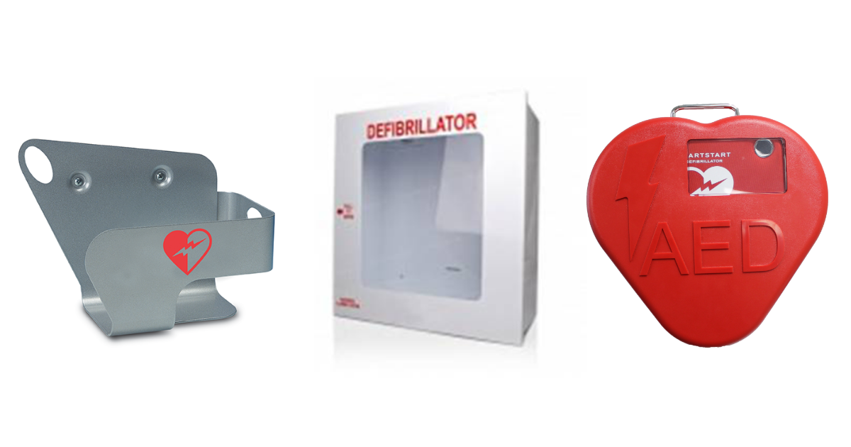 AED Cabinets - AED Accessories