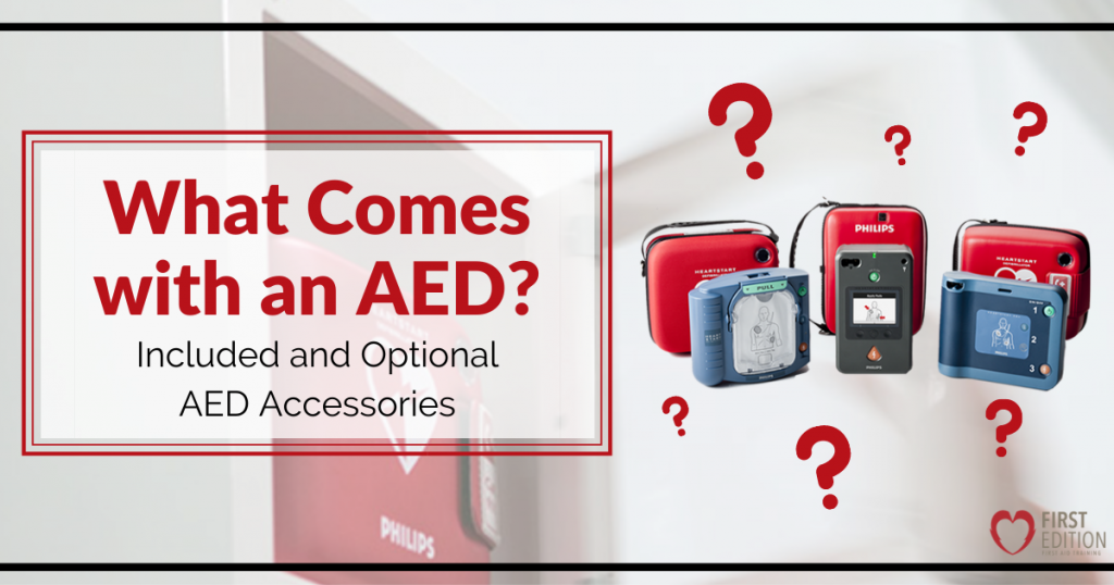 What Comes with an AED - AED Accessories Image