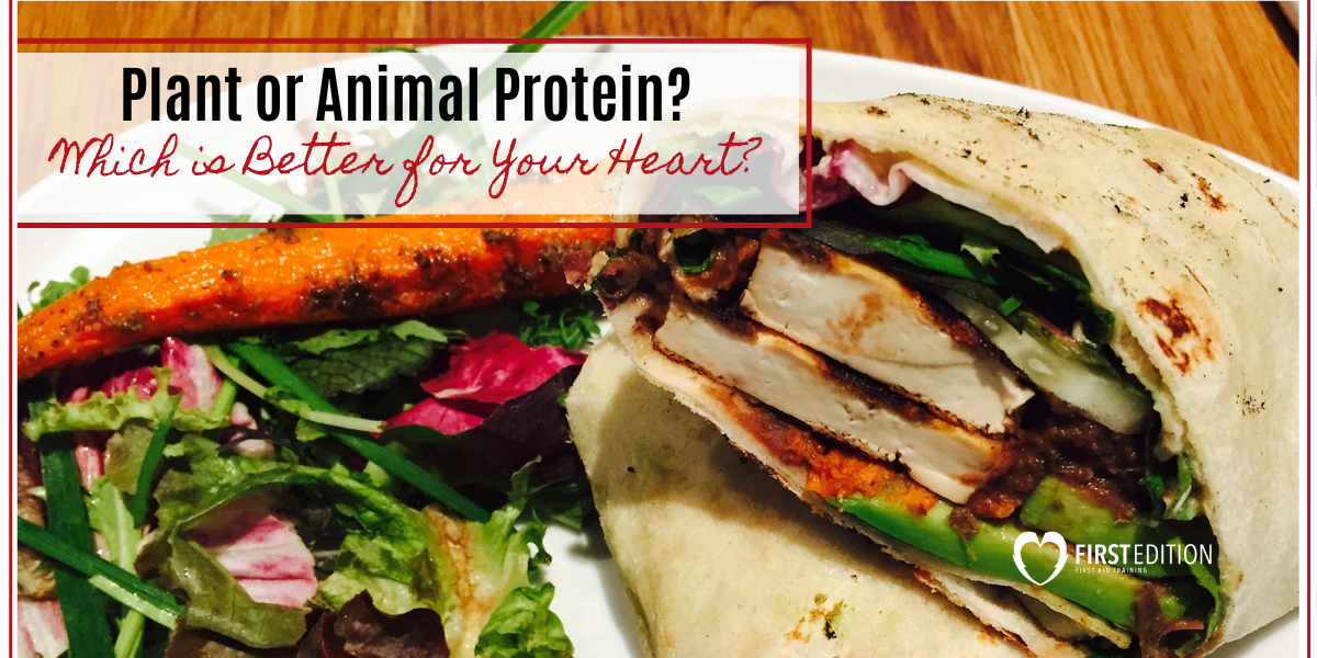 Plant or Animal Protein - Which is better for your heart?